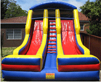 Dual Slide Jumping Castle